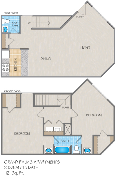Grand Palms Apartments In Mandeville La 1 Amp 2 Bedroom
