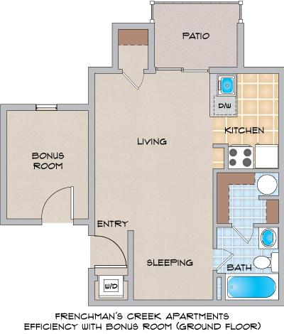 Frenchman\'s Creek Apartments in Metairie, LA - Studio, 1 & 2 Bedroom ...