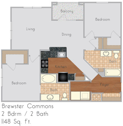 Brewster commons at river chase apartments in covington for House plans covington la