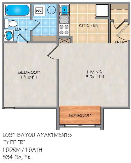 Apartments In Metairie: Lost Bayou Apartments In Metairie, LA