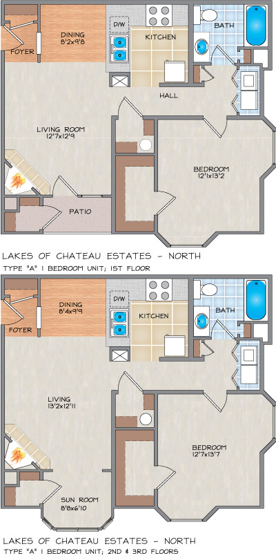Lakes Of Chateau Estates North Apartments In Kenner La