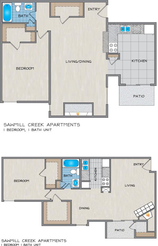 Sawmill Creek Apartments in River Ridge, LA - 1 & 2 Bedroom