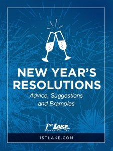 In theory, New Year's resolutions are a great way to start a new year. The problem with resolutions is that we almost never stick to them. So how do we get ourselves to stick to our promises? Simple: pick the right resolutions, and make a plan to stick to them. We've put together a couple of tips to help you out.