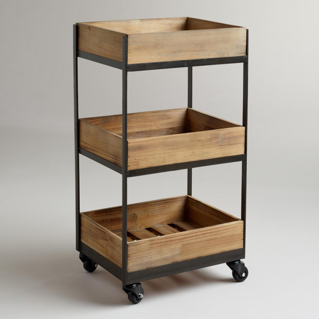 Rolling Cart Shelves