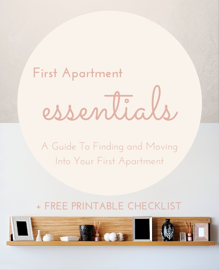 how to move into your first apartment