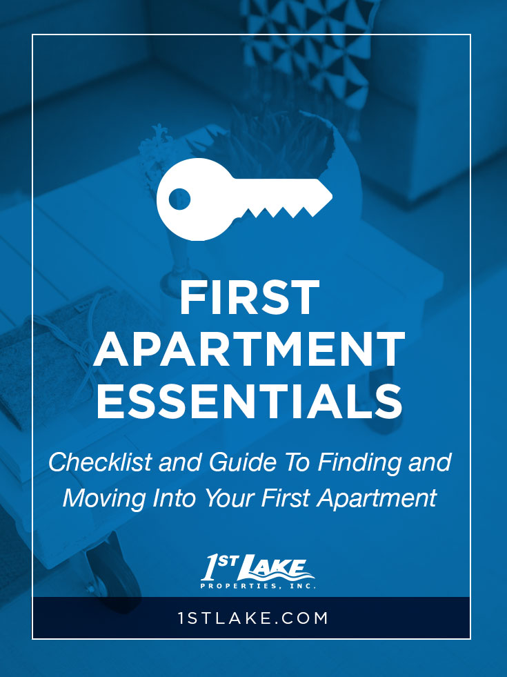 1st Lake | First Apartment Essentials: Checklist and Guide