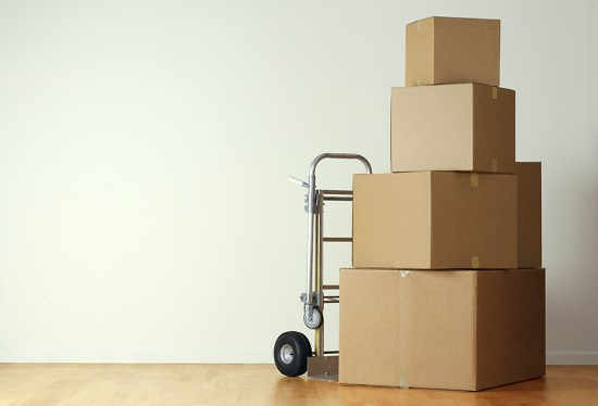 Big move on the horizon? Pack up every last belonging and plan to rent or purchase a dolly.